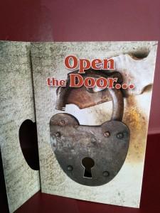 Open the door to updated branding
