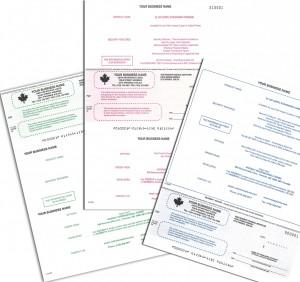 cheques VL103, VL107, VL150