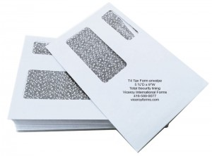 t4 double window envelopes